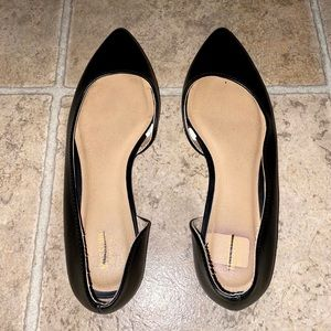 Mossimo Black Pointed Flats size 9
